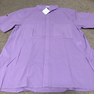 袖口ロールアップ半袖ビッグシャツ(Tシャツ(半袖/袖なし))
