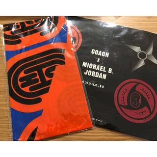 コーチ(COACH)の新品 coach ナルト コラボ バンダナ シール 非売品(ノベルティグッズ)