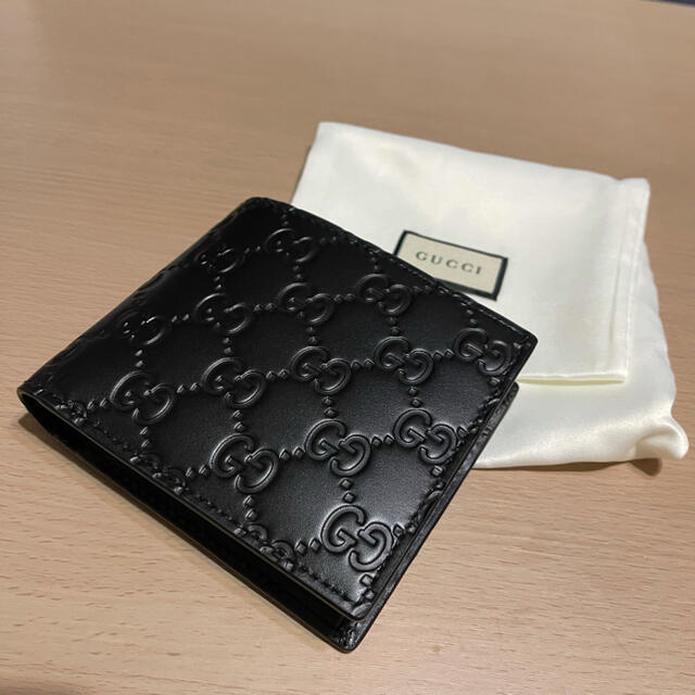 Gucci(グッチ)のグッチ 二つ折り財布 AVEL メンズのファッション小物(折り財布)の商品写真