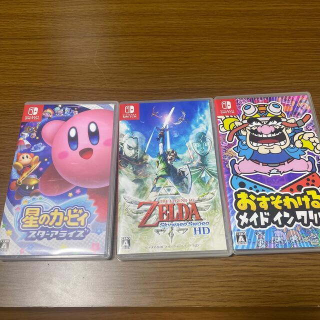 Nintendo Switch(ニンテンドースイッチ)のSwitch ソフト3本セット! エンタメ/ホビーのゲームソフト/ゲーム機本体(家庭用ゲームソフト)の商品写真