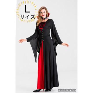 セット コスプレ ハロウィン セクシー 大人 ウィッチ 小悪魔 黒 淫魔 女王 (衣装一式)