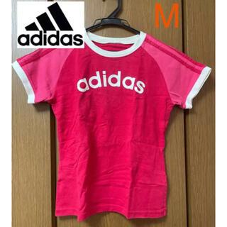 adidas - アディダス Tシャツ ピンク レディース Mサイズ