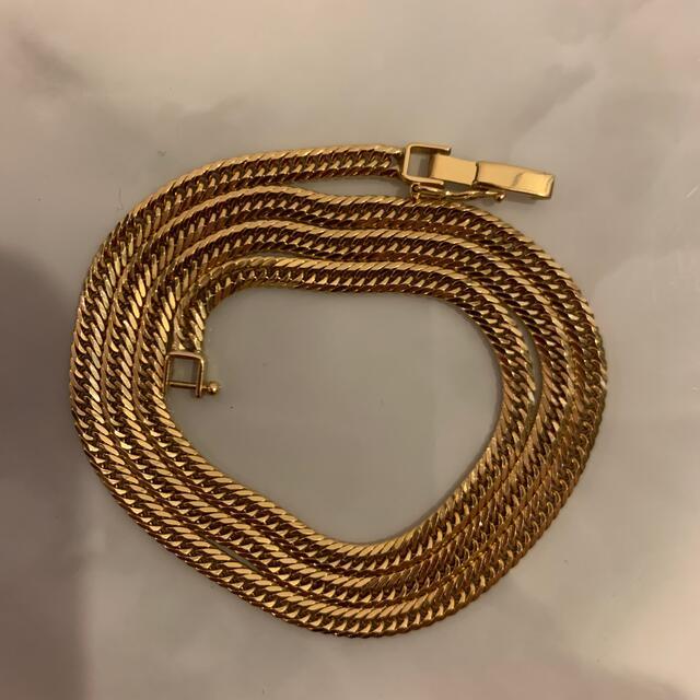 K18 喜平ネックレス 8面トリプルカット 最安値 50㎝ 20g  メンズのアクセサリー(ネックレス)の商品写真