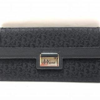 ディオール(Dior)のディオール トロッター 01-LU-0055 長財布 2つ折り財布 レディース(財布)