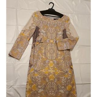 グレースコンチネンタル(GRACE CONTINENTAL)のワンピース ドレス 秋物 冬物(ひざ丈ワンピース)