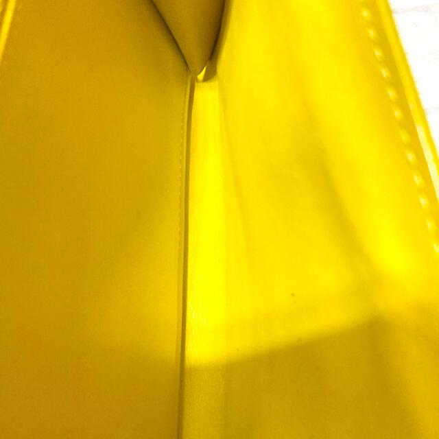 LOUIS VUITTON(ルイヴィトン)のルイヴィトン ヴェルニ 長財布 イエロー ポルトフォイユサラ DU 18 レディースのファッション小物(財布)の商品写真