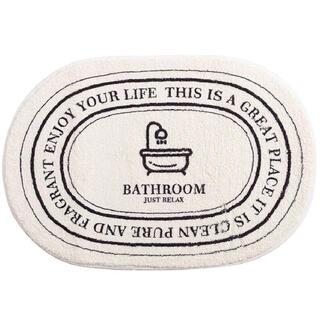 韓国インテリア バスマット バスルーム 風呂 マット ラグ 絨毯 マイホーム雑貨(バスマット)