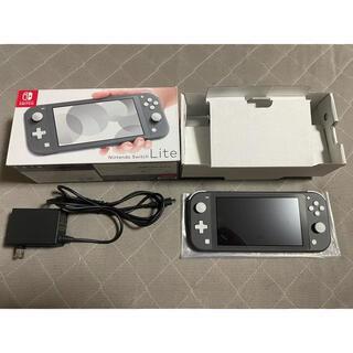 Nintendo Switch - NINTENDO SWITCH LITE グレー ジャンク