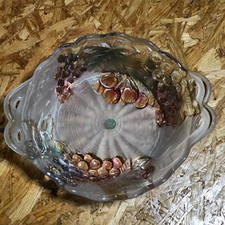 曽我ガラス SOGA ガラス皿 ぶどうさくらんぼ