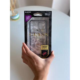 エレコム(ELECOM)のエレコムiPhone 11proハイブリッドケース/アルミ/ガラス/360度保護(iPhoneケース)