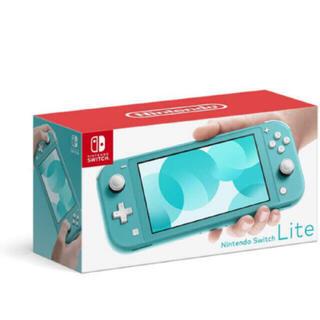 Nintendo Switch - 任天堂 Switch Llite ターコイズブルー 新品未使用