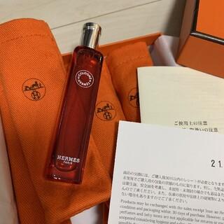 Hermes - 新品エルメス香水 オードゥルバーブエカルラット15ml 赤