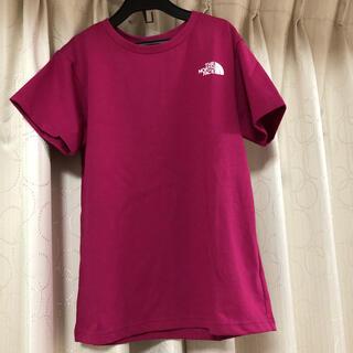 ザノースフェイス(THE NORTH FACE)のお値下げしました!ノースフェイス キッズTシャツピンク140(Tシャツ/カットソー)