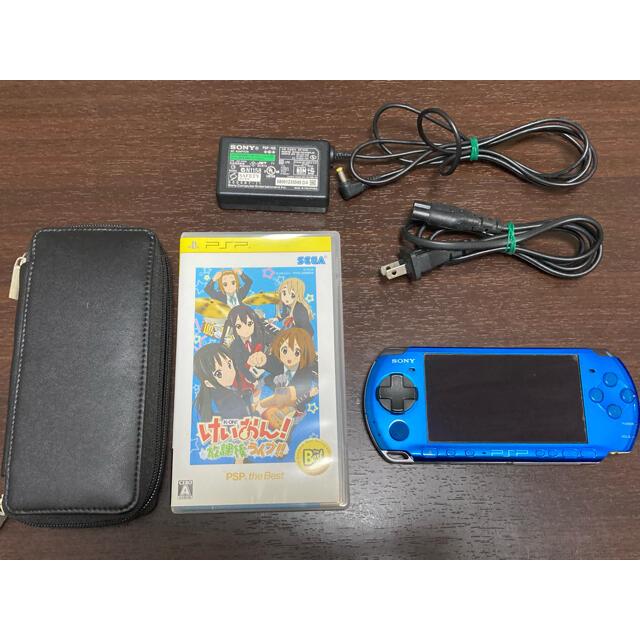 SONY(ソニー)のPSP3000 本体 エンタメ/ホビーのゲームソフト/ゲーム機本体(携帯用ゲーム機本体)の商品写真