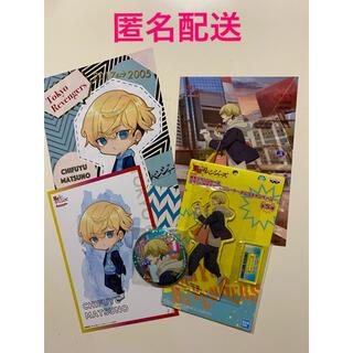 BANDAI NAMCO Entertainment - 東京リベンジャーズ ナムコ限定 千冬セット イラストカード アクスタ 缶バッジ