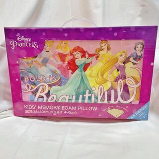 ディズニー(Disney)のキッズ まくら 枕  ピロー プリンセス オールスター ディズニー  ピンク(枕)