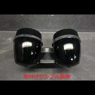 カワサキ - ゼファー400 ゼファー750 メーターカバー上下セット 艶あり黒 ウレタン塗装