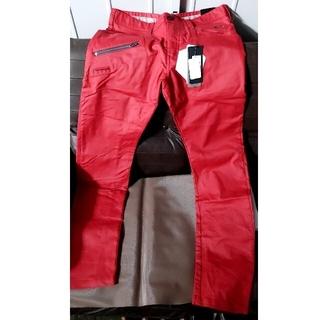 オークリー(Oakley)のオークリー パンツ 赤 34インチ 新品(ウエア)