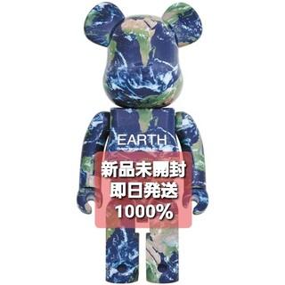メディコムトイ(MEDICOM TOY)の2体セット BE@RBRICK EARTH 1000% アース 25th(その他)