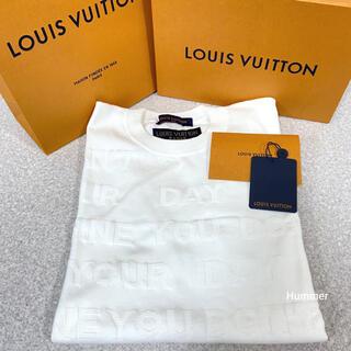LOUIS VUITTON - 国内正規品 極美品 ルイヴィトン レターTシャツ XL 箱 レシート ショッパー