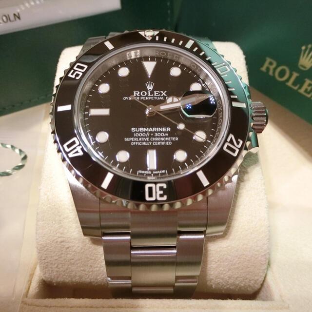 ROLEX(ロレックス)の【未使用品】ロレックス サブマリーナ デイト116610LN メンズの時計(腕時計(アナログ))の商品写真