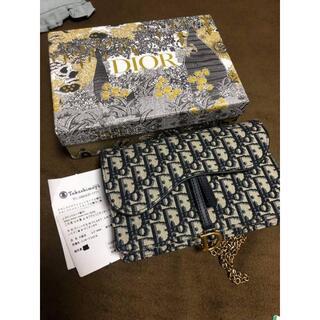 Christian Dior - ディオール サドル SADDLE  オブリーク ジャカード ウォレット ポーチ