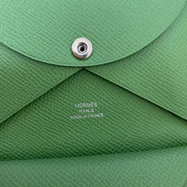 Hermes(エルメス)のエルメス カルヴィデュオ ヴェールクリケット レディースのファッション小物(財布)の商品写真