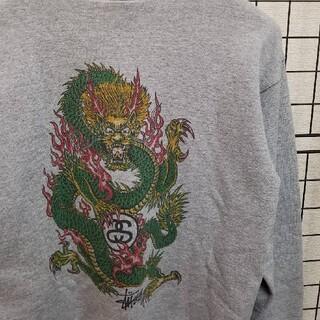 ステューシー(STUSSY)のUSA製 90's Old Stussy Dragon Print Sweat(スウェット)