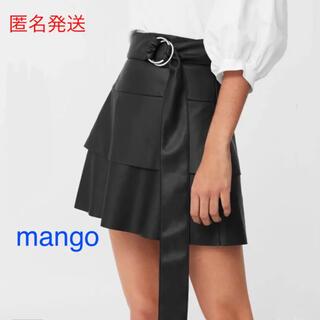 マンゴ(MANGO)のマンゴー フレアスカート M(ミニスカート)