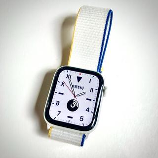 Apple Watch - AppleWatch Series6 GPSモデル44mm シルバーアルミニウム