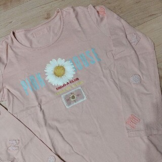 ピンクハウス(PINK HOUSE)のピンクハウス ロンティー SHINPA CLUB マーガレット(Tシャツ(長袖/七分))