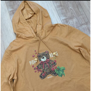ピンクハウス(PINK HOUSE)のピンクハウス ロンティー ロゴ サーモンピンク  コレクション(Tシャツ(長袖/七分))