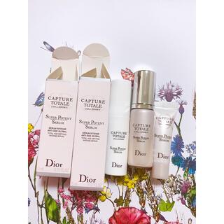 クリスチャンディオール(Christian Dior)のディオール カプチュールトータルサンプル(美容液)