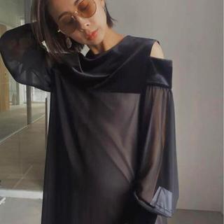 Ameri VINTAGE - AMERI TOP COVER SHEER DRESS