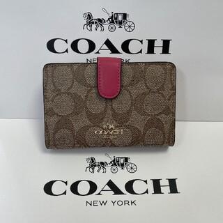 コーチ(COACH)の人気(COACH )二つ折り 財布 F23553(その他)