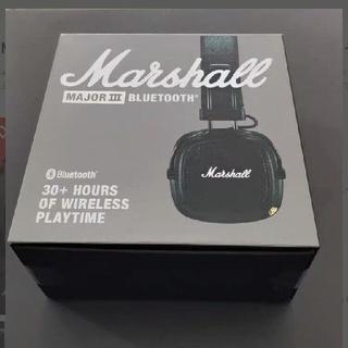 新品 MarshallマーシャルMAJORⅢ 黒bluetoothメジャー3