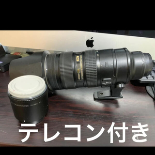 Nikon - NIKKOR 70-200mm f/2.8G ED VR II+純正二倍テレコン