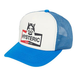 HYSTERIC GLAMOUR - ヒステリックグラマー HYSTERIC UNLIMITED メッシュキャップ水色