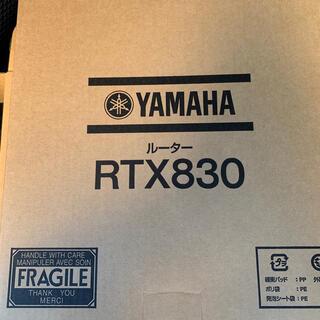 ヤマハ(ヤマハ)の『新品未使用』YAMAHAギガアクセスVPNルーターRTX830(PC周辺機器)