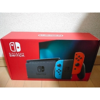 Nintendo Switch - 即日発送手配 新品 Nintendo Switch ネオンブルー/ネオンレッド
