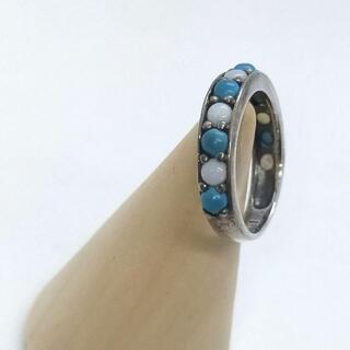 ANNA SUI - ANNA SUI ターコイズ シルバーリング トルコ石 指輪 銀製品 11号