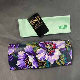 フェイラー(FEILER)の新品箱入り♡フェイラーFEILER♡メガネケース 眼鏡ケース♡ポプリンシャノン(サングラス/メガネ)