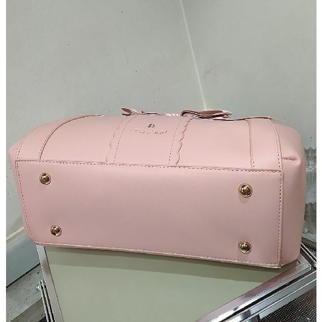 星野様専用 リボン バック ショルダー付き レディースのバッグ(ショルダーバッグ)の商品写真