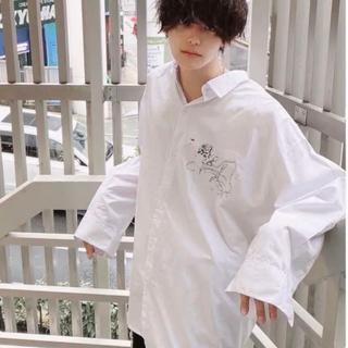 ADRER アドラー 薔薇 バラ刺繍ビックTシャツ ☆即発送可