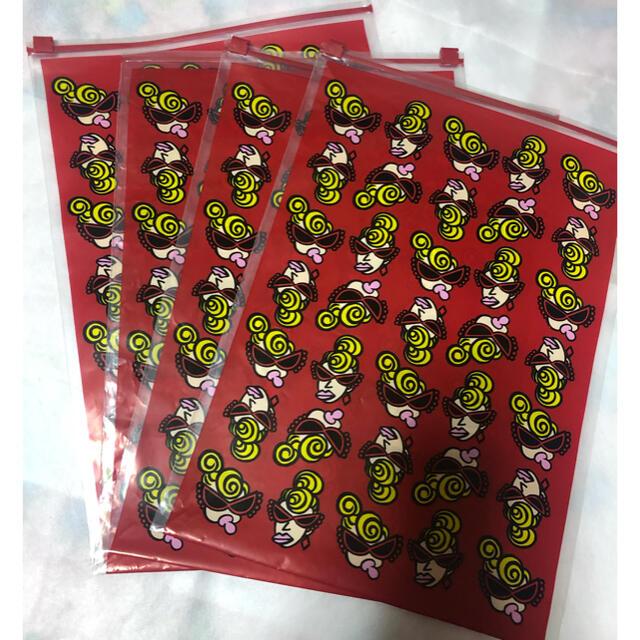 HYSTERIC MINI(ヒステリックミニ)のヒステリックミニ ミニママ ジップショップ袋 4枚セット❗️ レディースのバッグ(ショップ袋)の商品写真