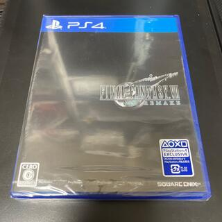 PlayStation4 - 【新品未開封】ファイナルファンタジー VII リメイク PS4