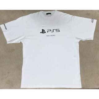 バレンシアガ(Balenciaga)のバレンシアガ 21ss PS5 tシャツ(Tシャツ/カットソー(半袖/袖なし))