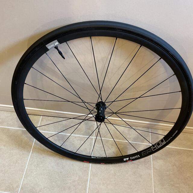 SHIMANO(シマノ)のdt swiss ER1400 スプライン ディスクホイール 前後セット スポーツ/アウトドアの自転車(パーツ)の商品写真