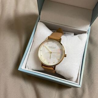 カシオ(CASIO)の新品未使用 Grand Jour 時計 本革モザイク白蝶貝(腕時計)
