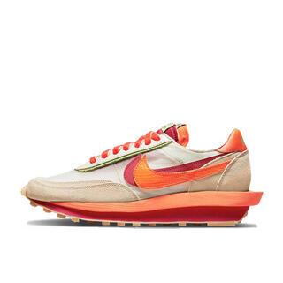 ナイキ(NIKE)のCLOT × sacai × Nike LD Waffle Orange 24(スニーカー)